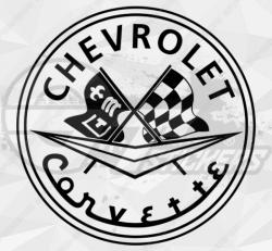 Sticker Chevrolet Corvette