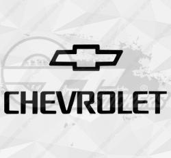 Autocollant Chevrolet Logo