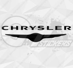 Autocollant Chrysler Logo V2