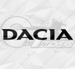 Autocollant Dacia 1
