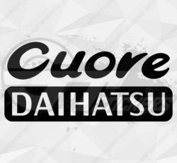 Sticker Daihatsu Cuore