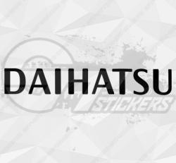 Sticker Daihatsu Logo