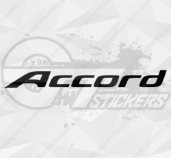 Sticker Honda Accord
