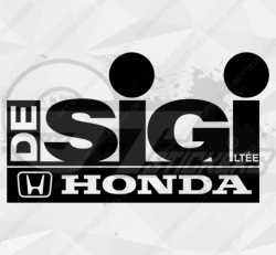 Sticker Honda Sigi