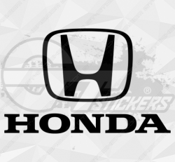 Sticker Honda Logo