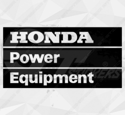 Sticker Honda Power Equipment