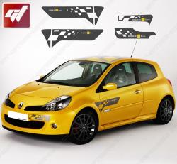 Kit Stickers Renault Clio F1 Team MK3