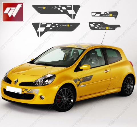 Kit Stickers Renault Clio F1 Team MK3