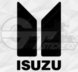 Sticker Isuzu Logo 2