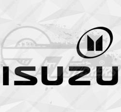 Sticker Isuzu Logo