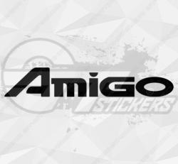 Sticker Isuzu Amigo