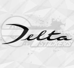 Sticker Lancia Delta
