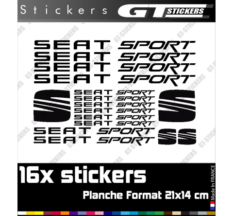 5 Stickers VW