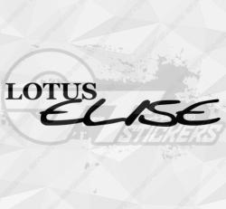 Sticker Lotus Elise