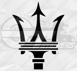 Stickers Maserati trident