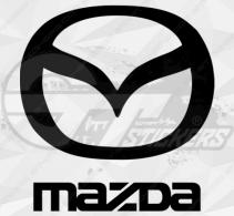 Autocollant Mazda Logo 1