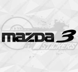Sticker Mazda 3