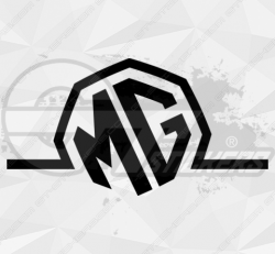 Sticker Mg Logo