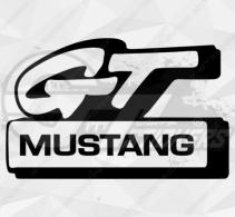 Sticker Mustang Gt 2