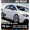 2 Stickers Seat Cupra 700 mm