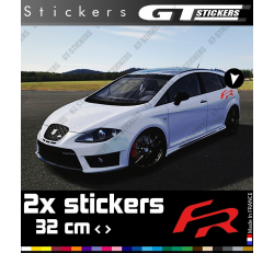 2 Stickers Seat FR 320 mm