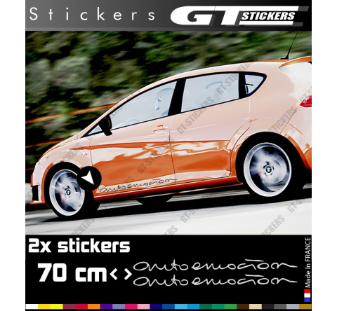 2 Stickers Racing