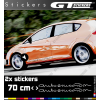 2 Stickers SEAT Autoemocion 700 mm