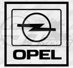 Sticker Opel Carré