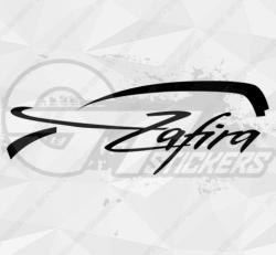 Autocollant Opel Zafira
