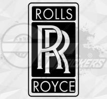 Sticker Rolls Royce Logo