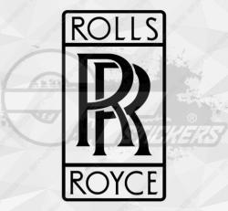 Stickers rolls royce