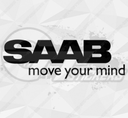 Sticker Saab Move Your Mind