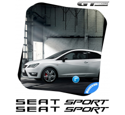2 Stickers Seat Sport 300 mm