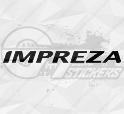 Sticker Subaru Impreza