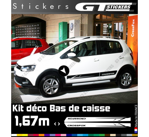 Kit Stickers Bandes Latérales VW Volkswagen Crossfox