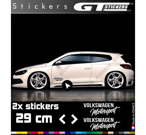 2 Stickers Renault Sport type 3, 800x65 mm