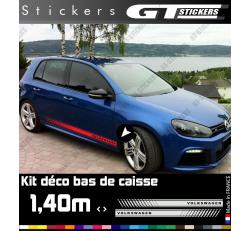 Kit Stickers Bandes Latérales VW Volkswagen 1400 mm