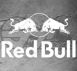 Sticker Red Bull