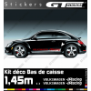 Kit Stickers Bandes Latérales VW Volkswagen Racing 1450 mm