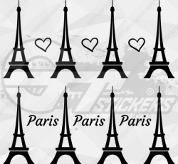 Sticker Kit Tour Eiffel Paris