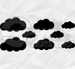 Sticker Kit Nuage