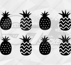 Sticker Kit Ananas