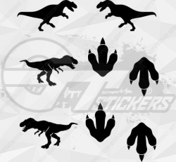 Sticker Kit Dinosaures 2