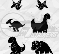 Sticker Kit Dinosaures