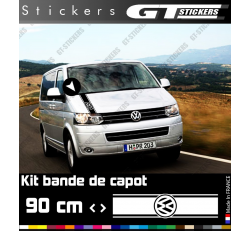 Sticker VW Volkswagen Bande De Capot 900 mm