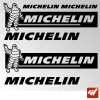 Planche de 6 stickers MICHELIN