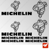 Planche de 8 stickers MICHELIN