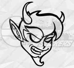 Stickers Diable 25