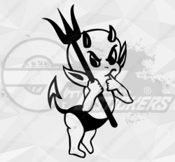 Stickers Diable 27
