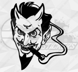 Stickers Diable 28